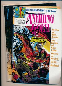 Fantagraphics LOT ANYTHING GOES #1-4  FINE/VERY FINE (HX764)