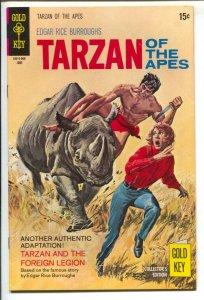 Tarzan #192 1970-Gold Key-Edgar Rice Burroughs-Tarzan & The Foreign Legion-No...