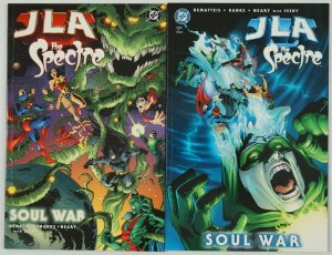 JLA/the Spectre: Soul War #1-2 VF/NM complete series - j.m. dematteis set lot