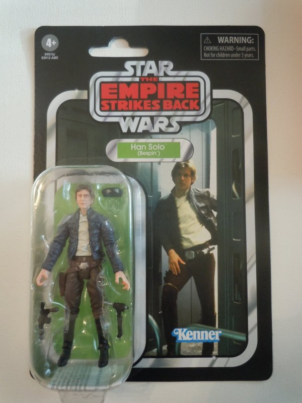 Star Wars The Vintage Collection Bespin Han Solo 3.75-inch Scale Action Fig
