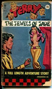 Terry & The Pirates - The Jewels of Jade-#1 1949-Milt Caniff-1st issue-G