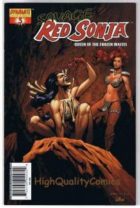 RED SONJA : Queen of the Frozen Wastes #3, Homs, NM, more RS in store
