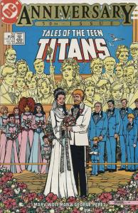 Tales of the Teen Titans #50 FN; DC   save on shipping - details inside