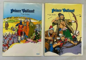 Prince Valiant lot #1-7 all 6 different books 6.0 FN (1979) Pacific Treasury