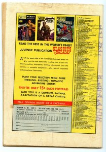 Classics Illustrated 107 (Original) May 1953 GD/VG (3.0)