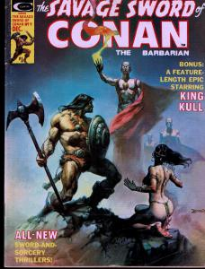 Savage Sword of Conan #9 - Early Conan Magazine - 5.0 or Better