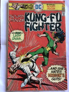 Richard Dragon Kung-Fu Fighter #5, VG, miscut cover!