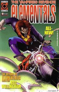 Elementals: The Vampires' Revenge #2 VF/NM; COMICO | save on shipping - details