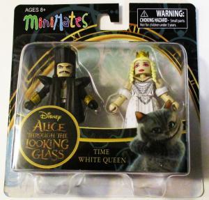 Alice in Wonderland TTLG Time & White Queen Minimates 2-Pack - New!