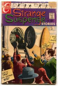 Strange Suspense Stories #1 1967- Charlton 1st issue G/VG