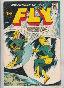 Adventures of the Fly #27 (Sep-68) FN/VF Mid-High-Grade The Fly, Fly-Girl