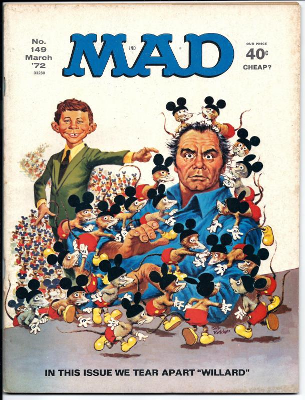 Mad No. 149,  March, 1972 (FN)