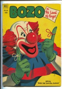 Bozo The Clown #5 1952-Dell-The Land Of Forgot-G/VG