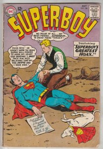 Superboy #106 (Jul-63) FN- Mid-Grade Superboy