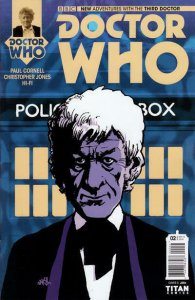 Doctor Who: The Third Doctor #2C VF; Titan | save on shipping - details inside