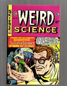 4 Comics Weird Science 12 Vault Horror 26 Crime Suspenstor 25 Tales Crypt 11 SB5