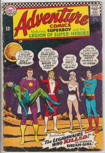 Adventure Comics #342 (Mar-66) GD/VG Affordable-Grade Legion of Super-Heroes ...