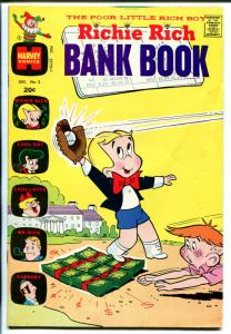 Richie Rich Bank Book  #2 1972-Harvey-bbaseball cover-FN