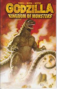 Godzilla: Kingdom of Monsters #1B VF/NM; IDW   save on shipping - details inside