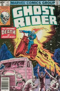 Ghost Rider (Vol. 1) #42 (Newsstand) VF; Marvel | save on shipping - details ins