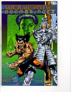 3 Marvel Comics Wolverine Doombringer Witchblade & Flashback # 1 -1 X-Men J203