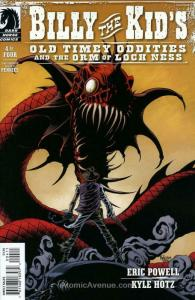 Billy the Kid's Old Timey Oddities and the Orm of Loch Ness #4 VF; Dark Horse |