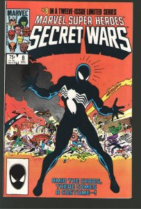 MARVEL SUPER HEROES SECRET WARS 8 NM+ 9.4;MIND WRENCHING GRADE!!