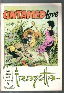 Untamed Love1973 DC-4 Frank Frazetta romance comics in B & W-FN+