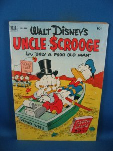 FOUR COLOR 386 UNCLE SCROOGE VG+ BARKS FIRST ISSUE KEY 1952