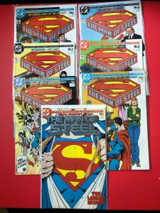 SUPERMAN THE MAN OF STEEL SERIES V1 #'S 1-6 W / COLLECTORS COPY / NM CON