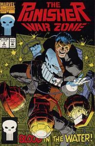 Punisher: War Zone (1992 series) #2, NM + (Stock photo)