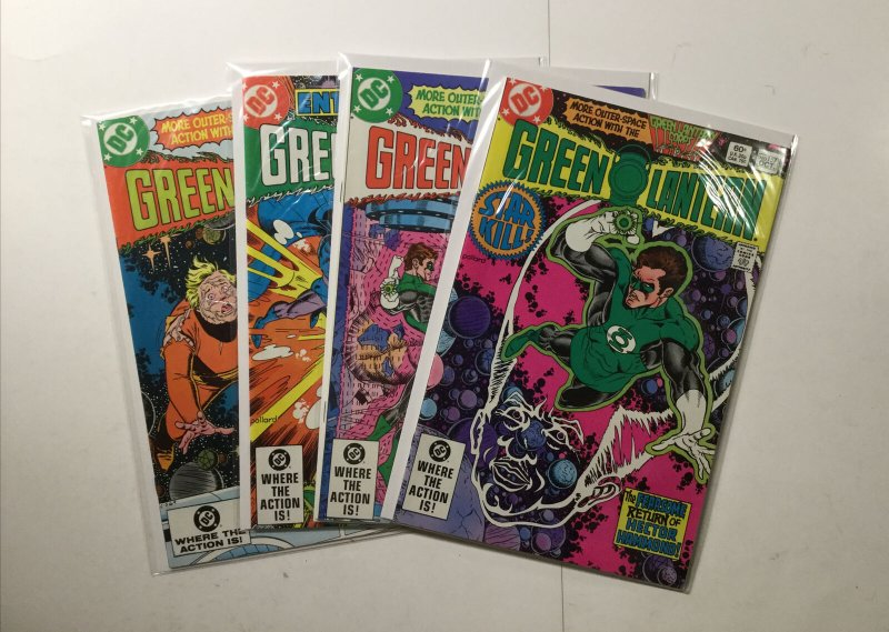 Green Lantern 152-159 162 Fine Fn 6.0 Lot Run Set Dc Comics