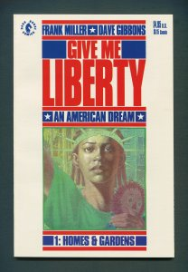 Give Me Liberty #1  / 9.6 NM+ / (Frank Miller)  July 1990