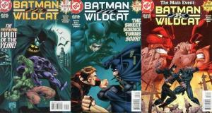 BATMAN WILDCAT (1997 DC) 1-3  COMPLETE!