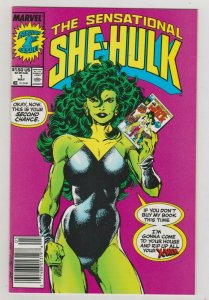 THE SENSATIONAL SHE-HULK #1 / NM UNREAD - 1989 MARVEL COMICS JOHN BYRNE