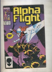Alpha Flight volumen 1 numero 47 )1987)