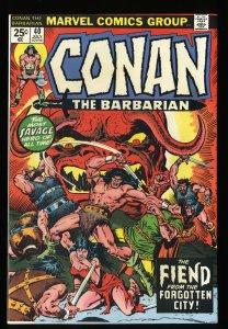 Conan The Barbarian #40 NM- 9.2 Marvel Comics