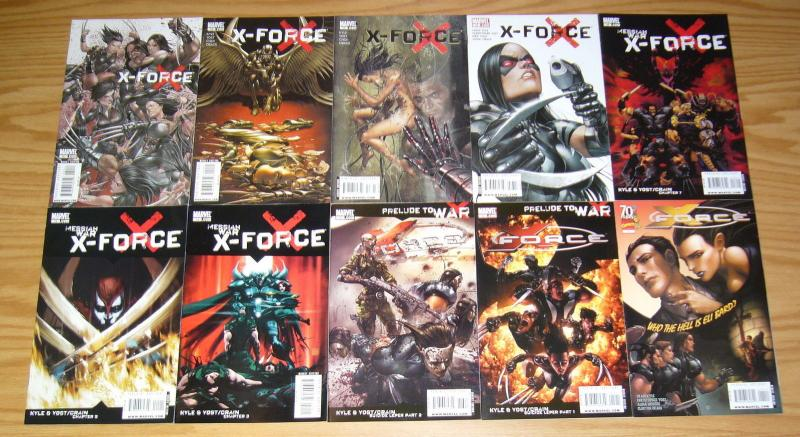 X-Force vol. 3 #1-28 VF/NM complete series - kyle/yost - clayton crain wolverine