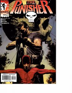 Lot Of 2 Marvel Comic Book The Punisher #3 4 KS11