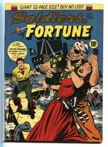 Soldiers of Fortune #3 1951-ACG-Weird menace GGA Pirate cover