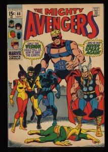 Avengers #68 FN 6.0 Marvel Comics Thor Captain America