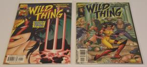 Marvel Comics Lot of 2-Wild Thing-Daughter of Wolverine #1 & #2  F/VF (SIC560)