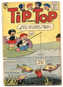 Tip Top Comics #209 1957- PEANUTS- Nancy G+
