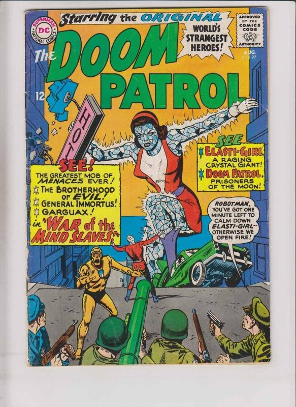 Doom Patrol #97 FN- august 1965 - brotherhood of evil - silver age dc comics