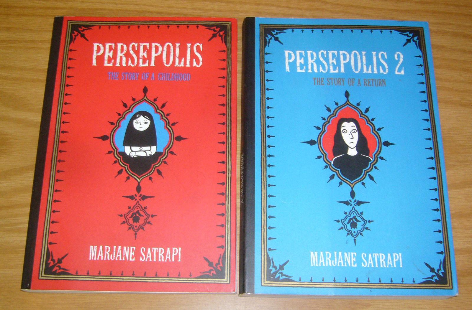 Persepolis Ogn 1 2 Vf Nm Complete Series Islamic Revolution Marjane Satrapi Set Hipcomic
