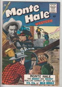 Monte Hale Western #85 (Jun-53) FN/VF Mid-High-Grade Monte Hale