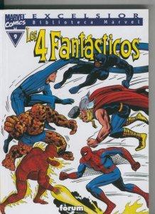 Biblioteca Marvel Excelsior : Los 4 Fantasticos numero 09