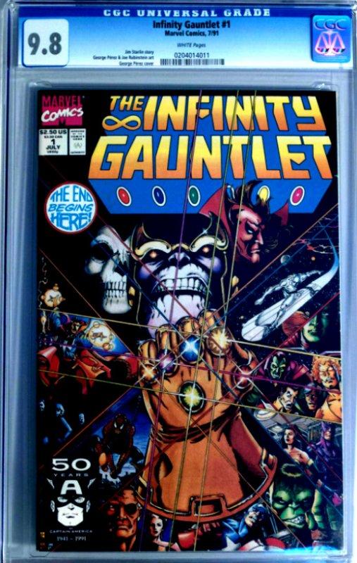 Infinity Gauntlet Giveaway