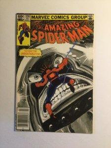 Amazing Spider-Man 230 Very Fine- vf- 7.5 newsstand edition Marvel