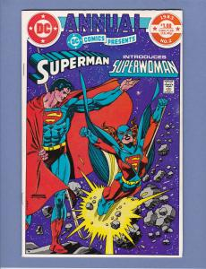 DC Comics Presents Annual #2 NM- 1st Appearance Superwoman Kristin Wells